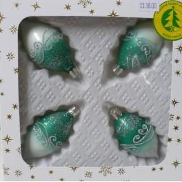 Vánoční ozdoby - OLIVY ZELENÉ